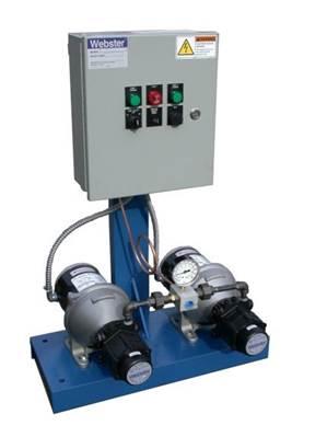 Duplex Pump And Motor Sets Duplex Automatic Pump Sets